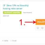 Váš-hosting kupón