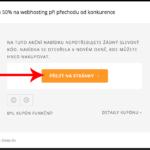 Jak uplatnit slevu na Cesky-hosting.cz