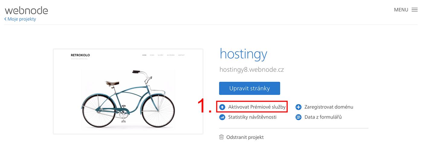 Jak uplatnit slevový kupón Webnode.cz