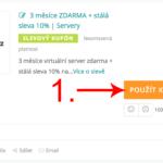 Jak aktivovat slevový kód na Stable.cz