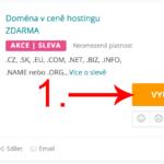 Jak uplatnit slevu na Webhosting-c4.cz