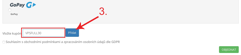 Jak uplatnit promo kód na MyDreams.cz