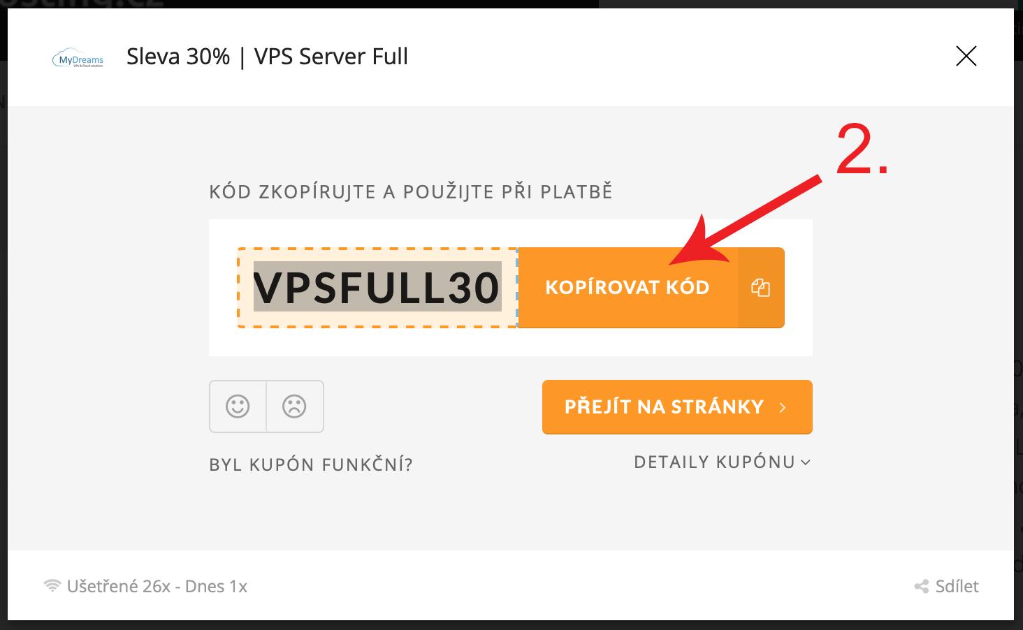 Jak uplatnit promo kupón na MyDreams.cz