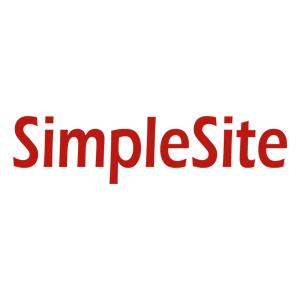 SimpleSite WYSIWYG editor page builder slevové kupóny